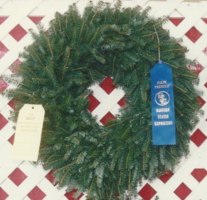 Plain Balsam Wreath
