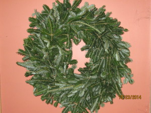 Plain Fraser Wreath